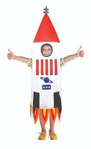 Enfant-Garcons-Filles-Rocket-Espace-Envoi-Deguisement-Costume-Nasa-Fete