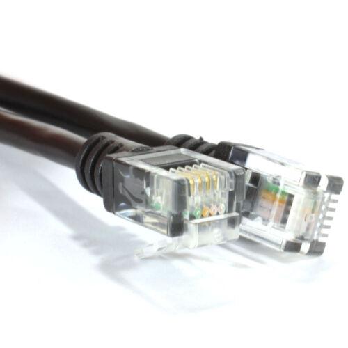 HIGH SPEED RJ11-RJ11 Broadband Modem Téléphone Câble Fil Plomb 1M-20 Meter Adsl 2