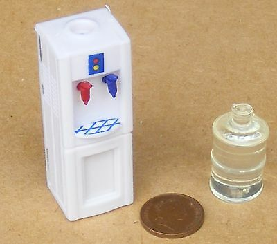 1:12 Scale Hot /& Cold Water Dispenser Cooler Tumdee Dolls House Office Drink