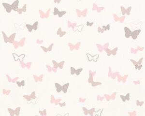 EUR-2-30-qm-Tapete-Schmetterlinge-Rosa-Esprit-Kids-30289-1-Esprit-302891