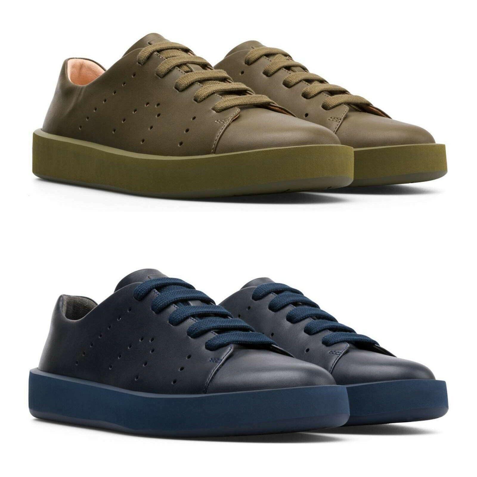 NEW Camper Men's Classic Casual Courb Leather scarpe da ginnastica OrthoLite Comfort scarpe