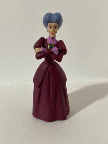 "Lady Tremaine Cinderella 3 1//2/"" Mini PVC Figure Cake Topper Disney Store Wicked"