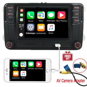 6-5-034-Car-Stereo-MIB2-RCD510-CarPlay-MirrorLink-Bluetooth-RVC-VW-Tiguan-Golf-Polo