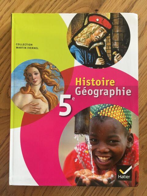 Histoire Geographie 5eme Livre De L Eleve Martin Ivernel