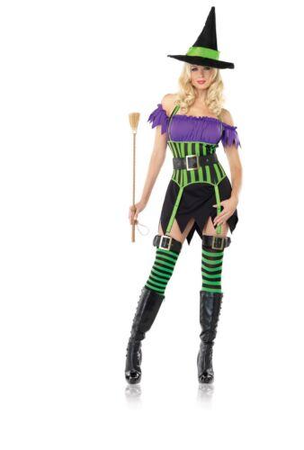 Leg Avenue Good Spell Binding Witch Costume Halloween Fairytale SALE 12-18