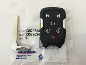 Image Is Loading 2017 2019 Chevy Tahoe Suburban Keyless Smart Remote