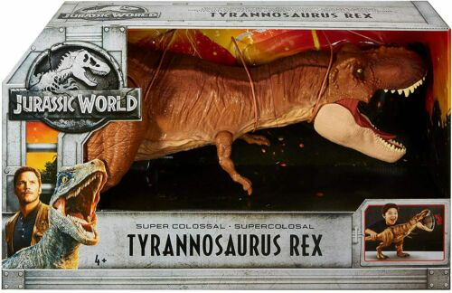 Jurassic World Super Colossal Tyrannosaurus Rex Figure Dinosaur Figure Toy Huge