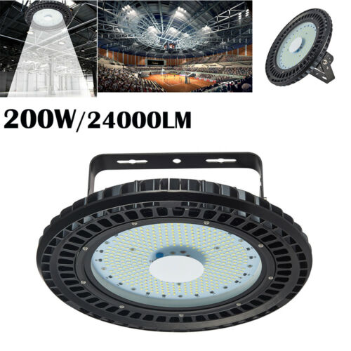 50W-300W UFO LED High Bay Light Fixture Industrial Factory Garage Shed Work Lamp