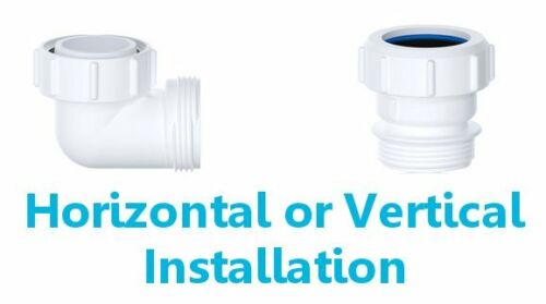Viva 32 mm Waterless Auto étanchéité Basin Sink Waste Piège vertical ou horizontal