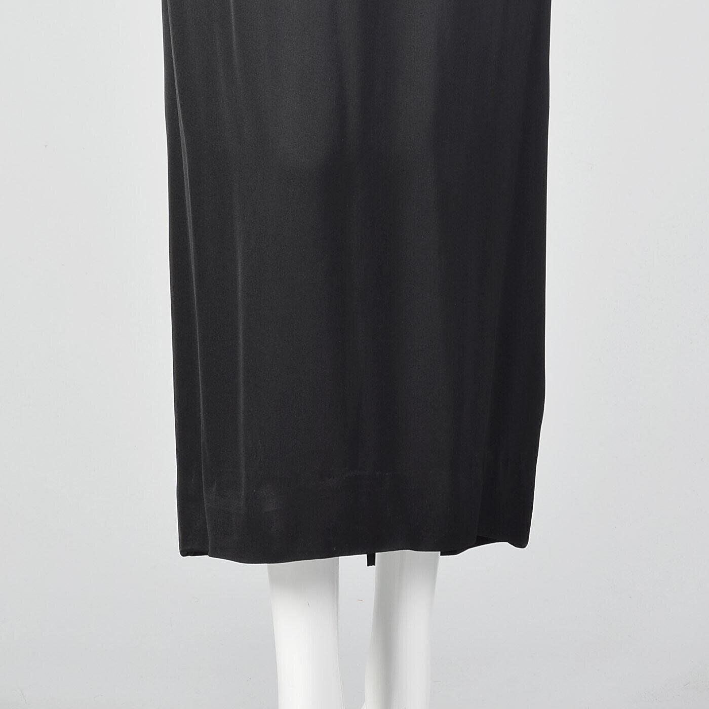 XXS 1960s Ceil Chapman Evening Dress Designer Bla… - image 5