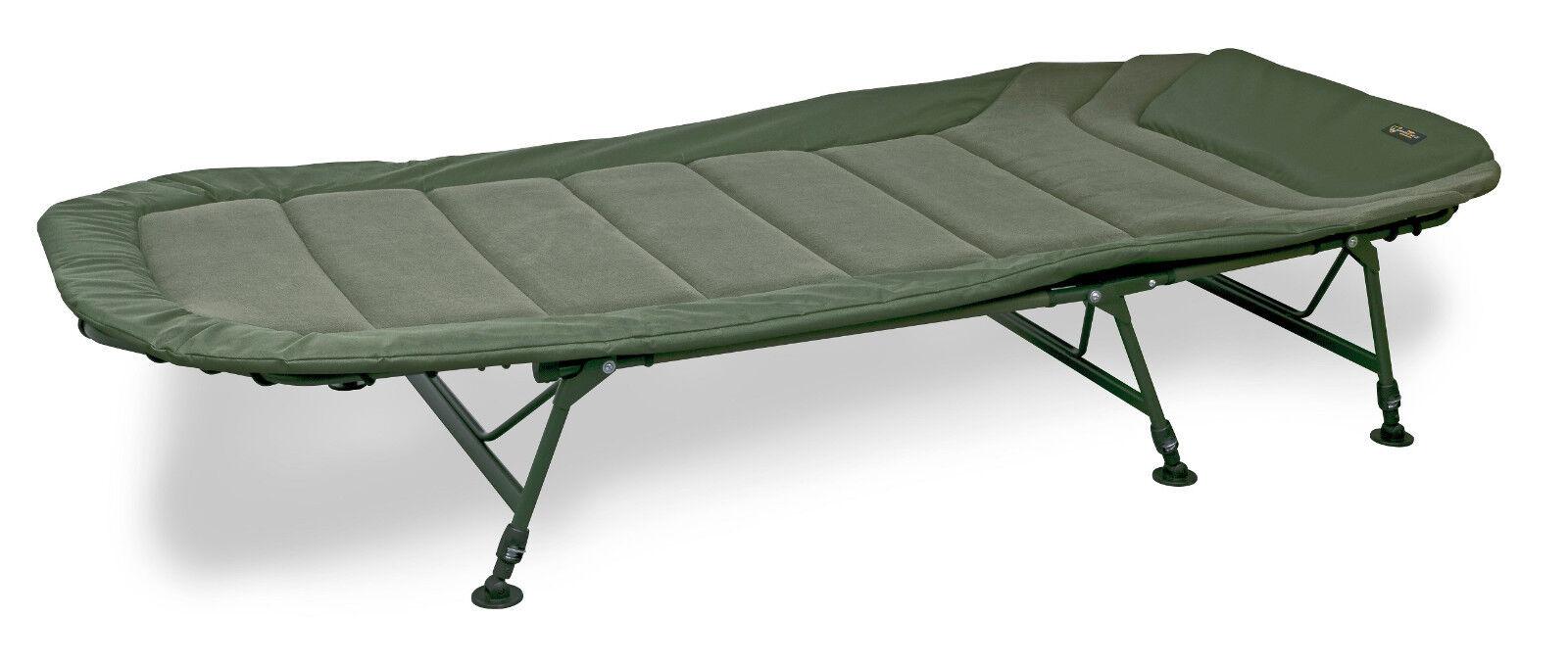 Fox Warrior II 6 Legged Bedchair CBC070 Liege Bed Chair Angelliege Karpfenliege