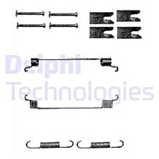 Rear Delphi Brake Shoes Vauxhall Corsa 1.0 1.0i 12V 1.2 1.2 LPG 1.2i 16V