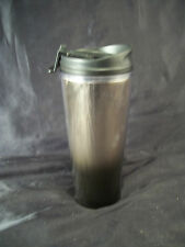 Mug cup travel style Starbucks insulated hot/cold w/lid 12oz. black to silver