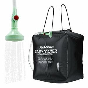 RISEPRO-Solar-Shower-Bag-10-gallons-40L-Solar-Heating-Camping-Shower-Bag-with