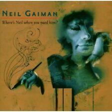 Neil Gaiman - Where's Neil When You Need Him? [New CD]
