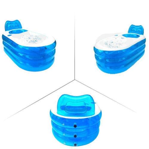 Portable Adult Bath Tub PVC Inflatable Spa Warm Bathtub Children Swimming Pool