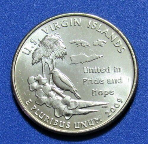 2009-D 25C US Virgin Islands Territory Quarter
