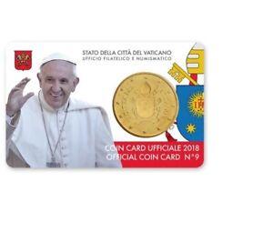 Coincard-2018-Vaticaan-Vatikan-Vatican-Vaticano-City-Coincard-No-9-50-cents