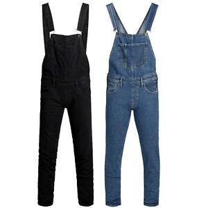 Jack-amp-Jones-Jeans-Mens-Dungarees-Overalls-Denim-Jumpsuit-Dungaree-Bib-Pants