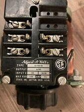Staco Adjust A Volt Variable Transformer