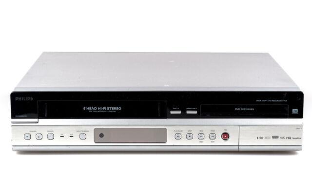 Philips DVDR3430V VHS DVD Recorder Kombigerät, Videokassetten digitalisieren