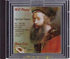 ANTES CONCERTO  Alessio Corti   W.A. Mozart   Opere per Organo   CD-Album