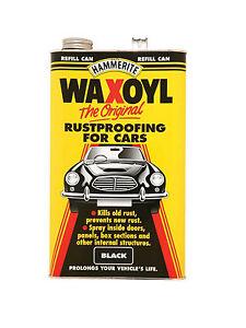 Hammerite-Waxoyl-Black-5-Liters-Car-Rustproofing-Rust-Proofing-Protector-5092949