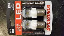 Brand new Sylvania ZEVO LED bulbs, 1157 pack of 2, 6000K, also fits 2357/2057