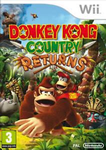 DONKEY-KONG-COUNTRY-RETURNS-NINTENDO-WII-UK-PAL-GAME-FREE-FAST-P-amp-P