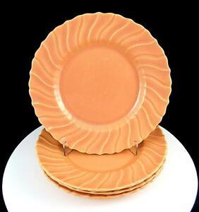 Gladding-Mcbean-Franciscano-4-PC-Coronado-Lustroso-Coral-18-7cm-Postre-Pastel