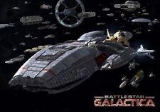 Battlestar Galactica Fleet Poster 11x17 Mini Poster (28cm x43cm)
