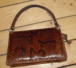 Genuine-Vintage-Real-Snakeskin-Handbag