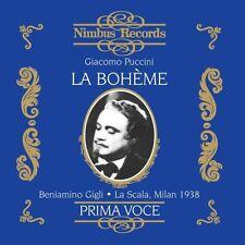 Beniamino Gigli, G. Puccini - La Boheme [New CD]