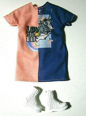 1 @ Mattel Barbie Fashionistas N. 103 Accessori Outfit A. Konvult-mostra Il Titolo Originale Avere Uno Stile Nazionale Unico