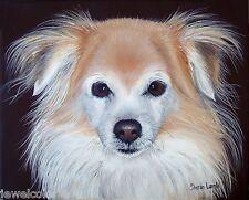 9x12 Custom Pet Painting Commission Pet Portrait Animal Artist Sharon Lamb