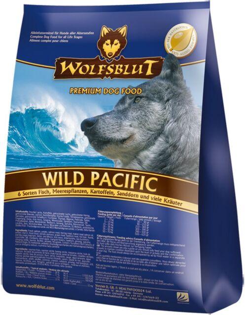 Wolfsblut Wild Pacific 15 kg Hundefutter mit Lachs