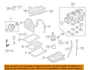 Details about FORD OEM 05-07 Mustang 4.0L-V6 Engine Crankshaft-Pulley on
