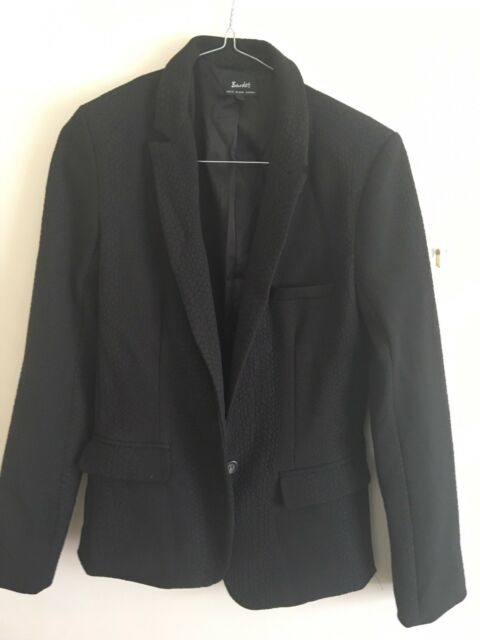 Bardot black blazer size 8