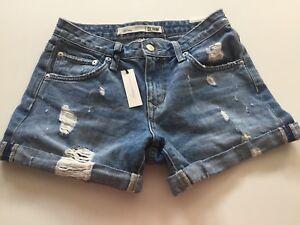 da 24 denim boyfriend Friends amato New Lovers Pantaloncini Sz xaptPwqq