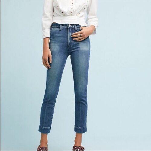 Amo Audrey Straight High Waisted Straight Jeans Si