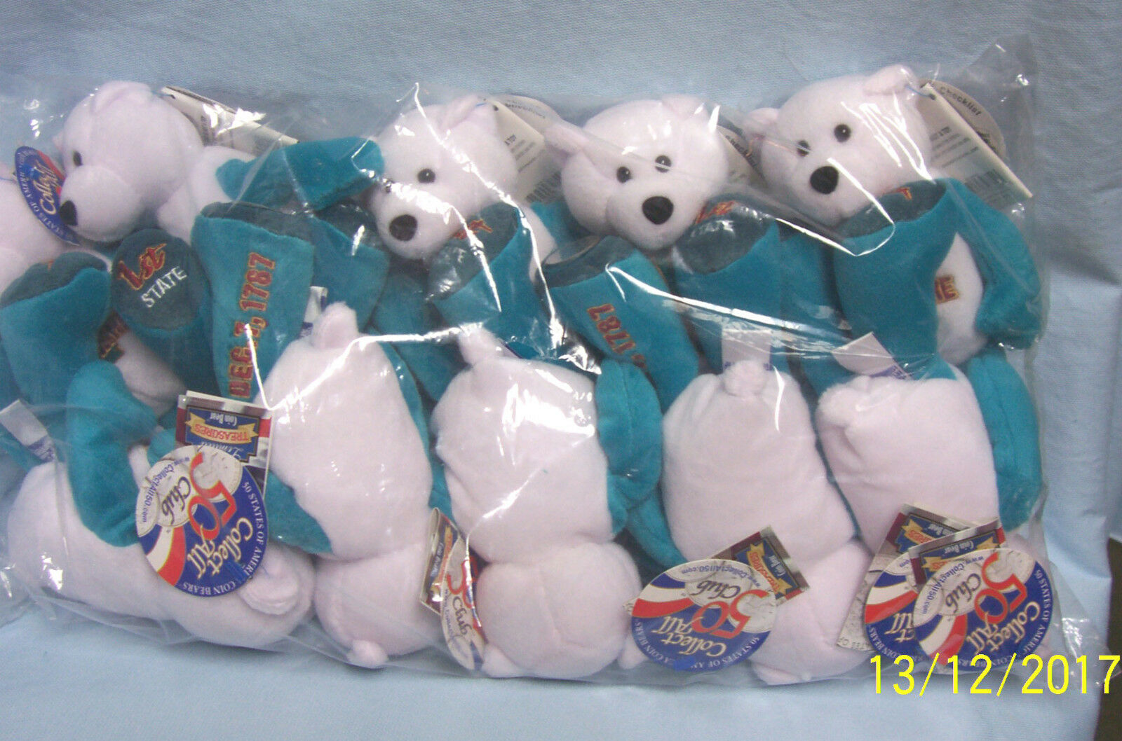 Lot of 10 Limited Treasures Plush 9
