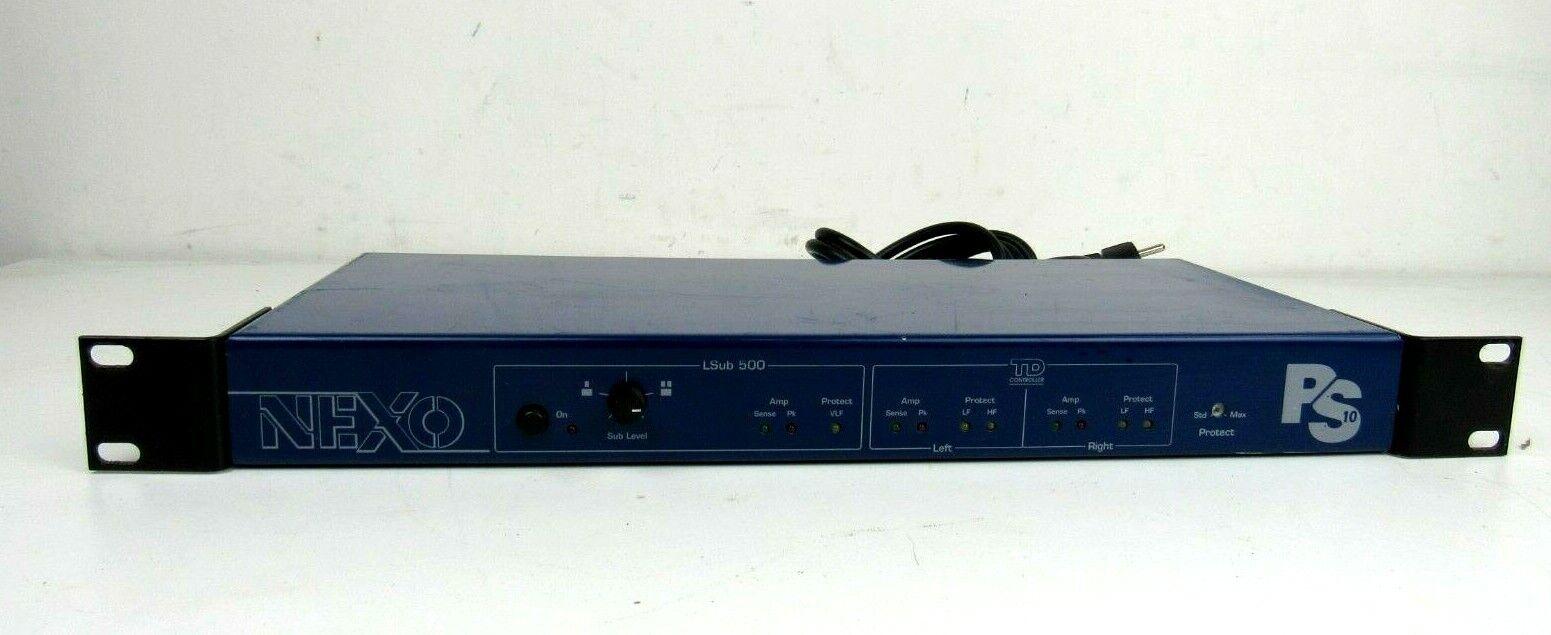 Nexo Ps10 TDcontroller LS 500