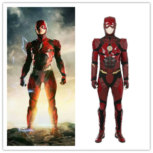 Justice League - The Flash Costume Cosplay Jumpsuit