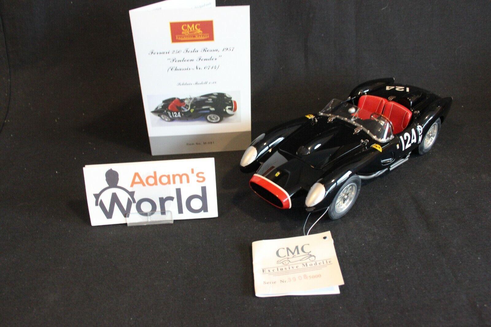 CMC Ferrari 250 Testa Rossa 1957 1 18  DM124 Chassis No  0714 (PJBB)