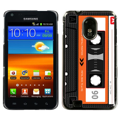 Hard Case for Samsung Galaxy S2 SII Epic Touch 4G Sprint US Cellular Cassette