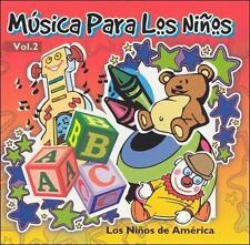 Musica Para los Ninos, Vol. 2 by Los Niños de America (CD, Apr-2004, Max Mex...