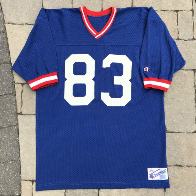Vintage Andre Reed Buffalo Bills Jersey Mens 48 NFL Champion Authentic Blue #83