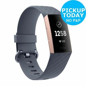 Fitbit Charge 3 Fitness Tracker - Rose Gold.