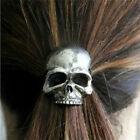 Fashion Punk Skull Hair Tie Cuff Wrap Ponytail Holder Hair Band Rope Accessories
