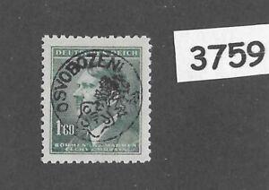 #3759   MNH  Sc71  1.60Kr  BaM WWII Local 1945 Overprint stamp Adolf Hitler